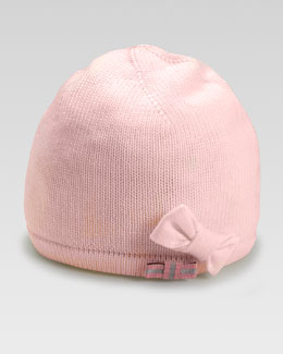 Gucci Children's Tricot Hat with Bow