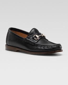Gucci Classic Horsebit Loafer, Nero