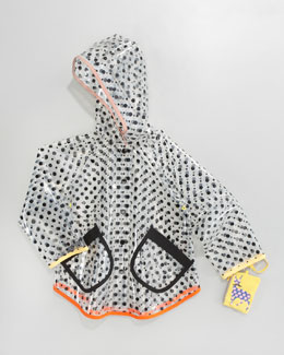 Stella McCartney Dottie Clear Raincoat