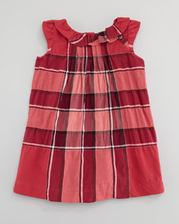 Burberry Check Dress, Boysenberry