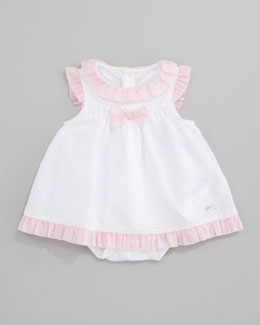 Armani Junior Ruffle-Trim Dress