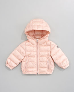 Moncler Dominic Hood Jacket, Light Pink