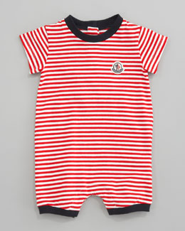 Moncler Striped Playsuit