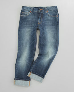 Dolce & Gabbana Five-Pocket Denim Jeans, Sizes 8-10