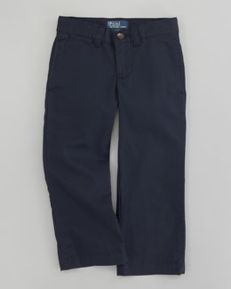 Ralph Lauren Childrenswear Classic Navy Suffield Chino Pants, Sizes 2T-7