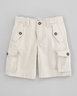 Ralph Lauren Childrenswear Canadian Basic Sand Cargo Shorts, Sizes 2-7