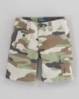 Ralph Lauren Childrenswear Corporal Camouflage Shorts, Sizes 2-7