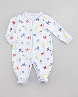 Kissy Kissy Oceans Alive Footie, Sizes Newborn-12 Months
