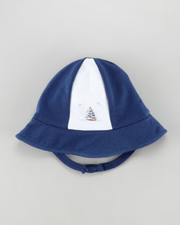 Kissy Kissy Starboard Sailboat Embroidered Hat