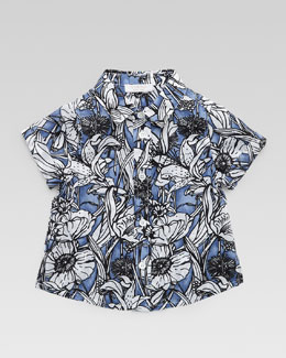 Gucci Tropical Button-Down Shirt