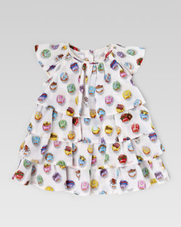 Gucci Cupcake Ruffle Dress