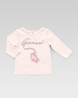 Gucci Gucci Ballet Long-Sleeve Tee