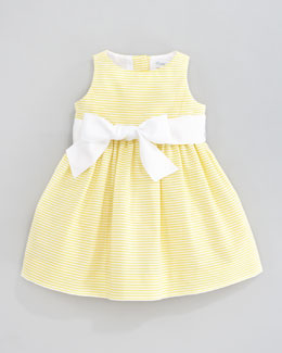 Ralph Lauren Sleeveless Pincord Dress, Yellow