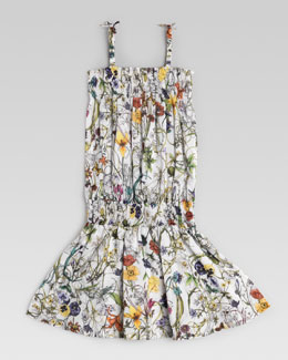 Gucci Floral Cotton Sun Dress