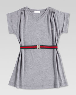 Gucci Summer Lightweight Dress, Gray