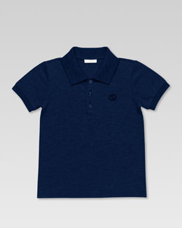 Gucci Polo Shirt, Navy