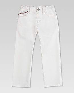 Gucci Denim Jeans, White