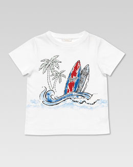 Gucci Gucci Surf Tee Shirt, White