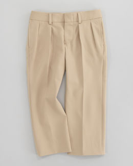Ralph Lauren Childrenswear Double Pleated Woodsman Pants, Sizes 2-4