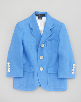 Ralph Lauren Childrenswear Linen Princeton Jacket
