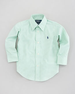 Ralph Lauren Childrenswear Lowell Long Sleeve Shirt, Sizes 8-14
