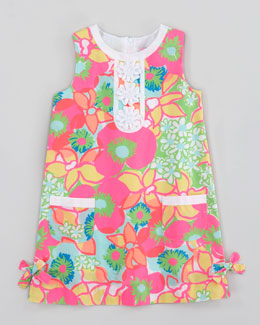 Lilly Pulitzer Ice Cream Social Little Lily Classic Shift Dress