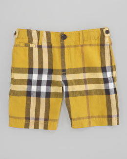 Burberry Mini Workwear Check Short