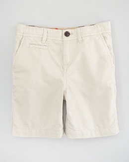 Burberry Lightweight Cotton Shorts, Trench