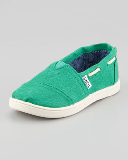 TOMS Bimini Youth Shoe, Earthwise Green