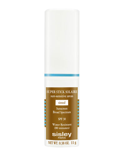 Super Stick Solaire Sun-Sensitive Areas Broad-Spectrum Sunscreen SPF30, Tinted