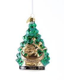 "Landmark Creations ""New York at Christmas Time"" Holiday Ornament"