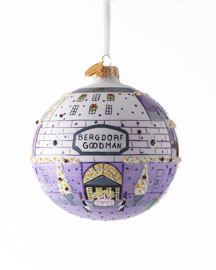 "Michael Storrings for Landmark Creations 2012 ""BG Storefront"" Christmas Ornament"