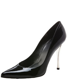 Stuart Weitzman Patent Leather Pump, 212 872 8941