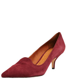 Elizabeth and James Pointed-Toe Smoking Slipper, 212 872 8941