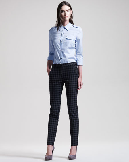 ALC Military Shirt & Checked Pants
