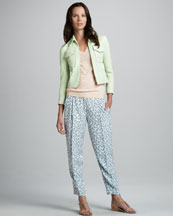 Theory Vika Jacket, Rina Trousers & Linova Sweater