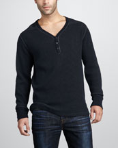 7 For All Mankind Thermal Henley