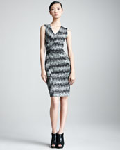 Missoni V-Neck Sleeveless Dress