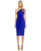 Michael Kors One-Shoulder Jersey Dress