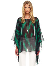 Michael Kors Printed Sheer Tunic