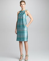 Giorgio Armani Printed Sleeveless Dress