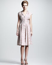 Dolce & Gabbana Polka-Dot Shirtdress