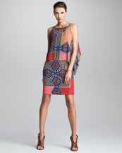 Etro Sleeveless Overlay Dress