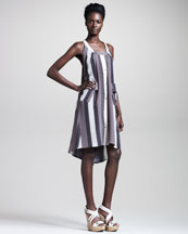 Belstaff Merril Luggage-Stripe Dress