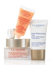 Clarins Extra-Firming Skin Solutions- Lifting and Firming