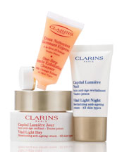 Clarins Vital Light Skin Solutions-Age-Defying