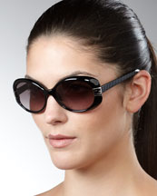 Fendi Mia Sunglasses, Black