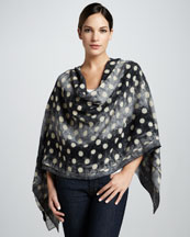 MARC by Marc Jacobs Lightweight Lizard Dot Scarf