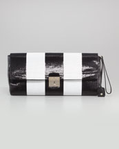 Marc Jacobs The Skunk Paillettes Clutch Bag