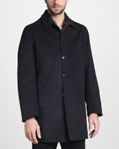 Ermenegildo Zegna Short Reversible Overcoat